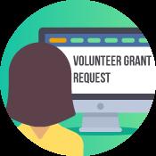 Volunteer Grant Request Icon